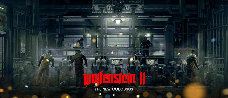 Wolfenstein II 2: The New Colossus CD Key + Features PC Game Free Download