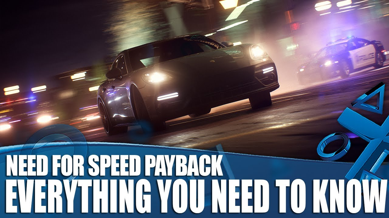 Need for Speed Payback PC Crack Game Free Download