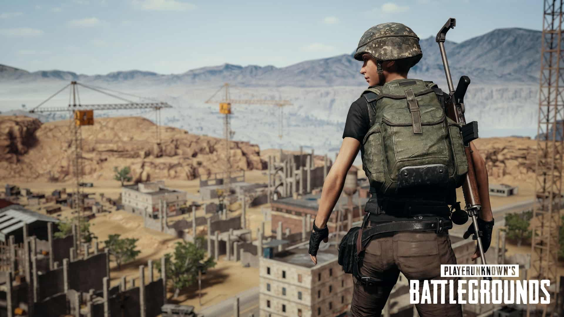 Player Unknowns Battlegrounds (PUBG) Crack PC Game Free Download