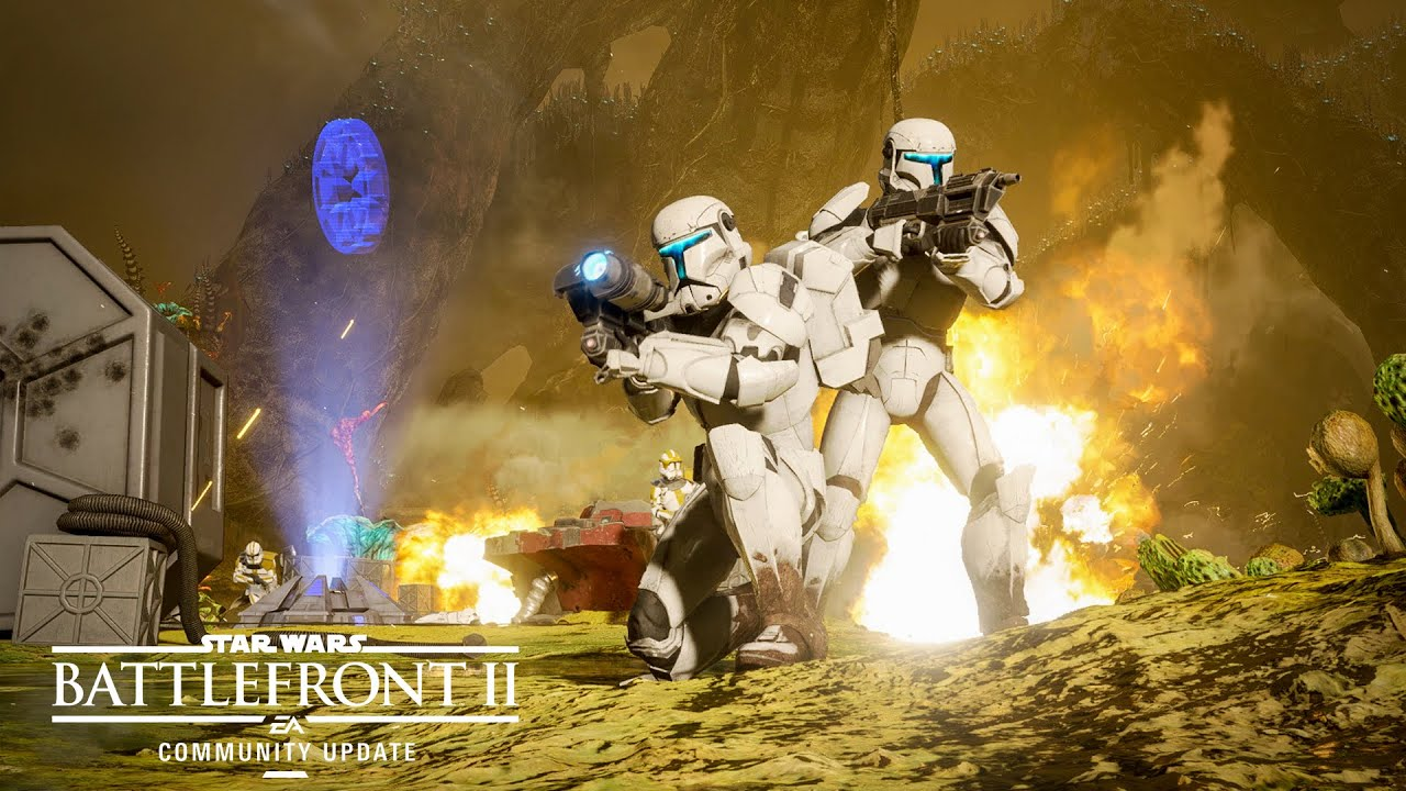 Star Wars Battlefront II 2 Action PC Game For Free Download