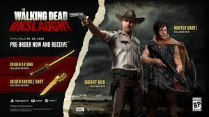 The Walking Dead Onslaught Free Skidrow Codex Games