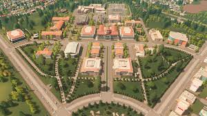 Cities Skylines Campus Crack Full PC Game Free Download 2021